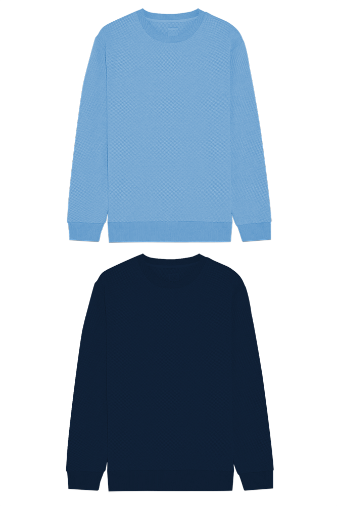 This image displays Pack Of Two Sweatshirt/T-shirt